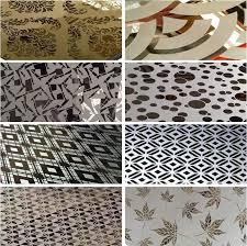 انواع طرح های ورق استیل طرحدا موجود در انبار فولاد مارکت