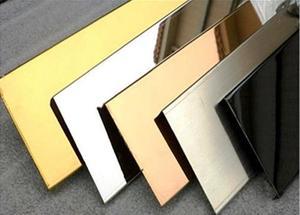 ورق استیل آینه-میرور. فولاد مارکت