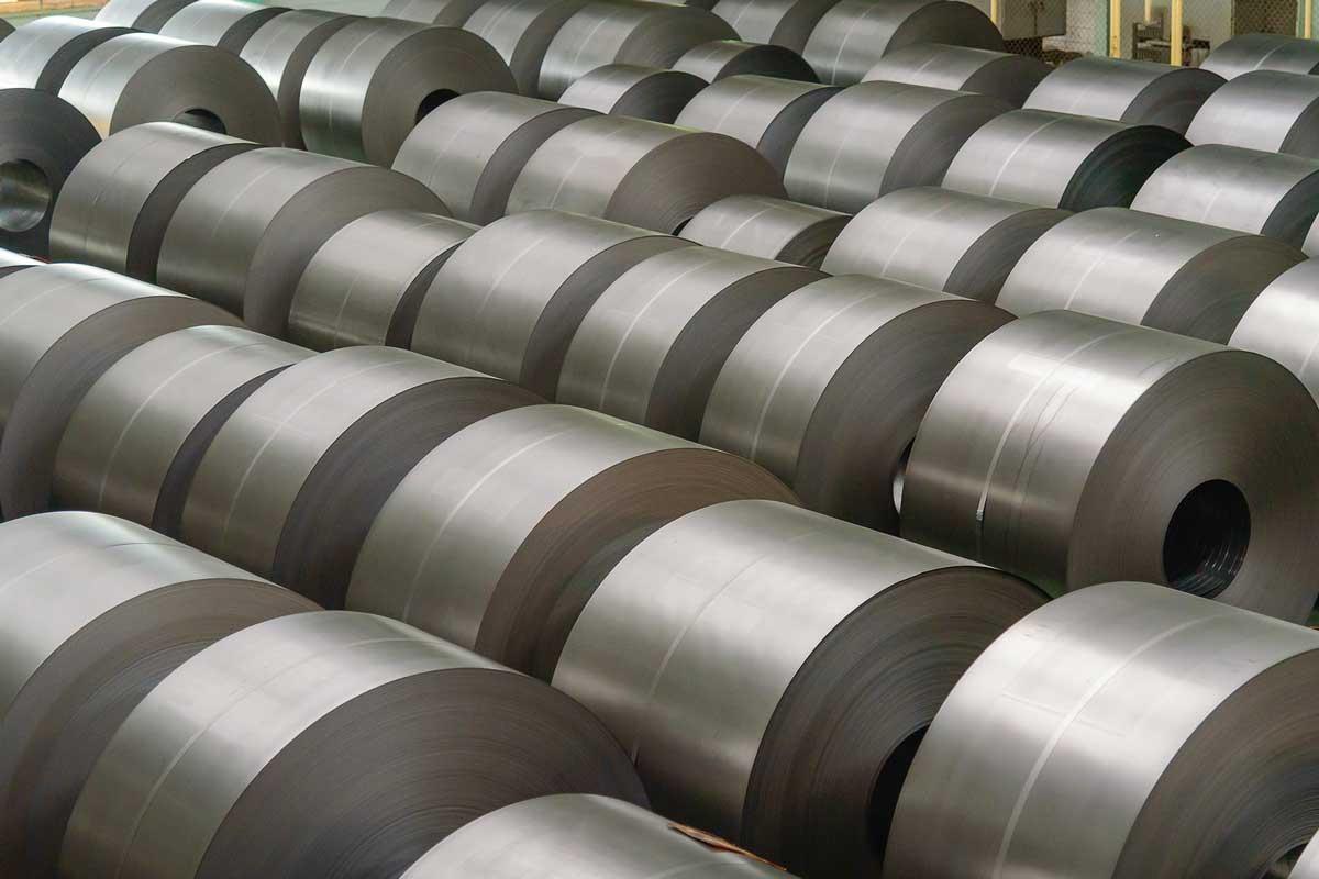قیمت ورق سیاه ( فولاد نورد گرم ) موجود در انبار فولاد مارکت