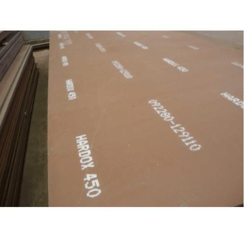 ورق ضدسایش 450 موجود در انبار فولاد مارکت