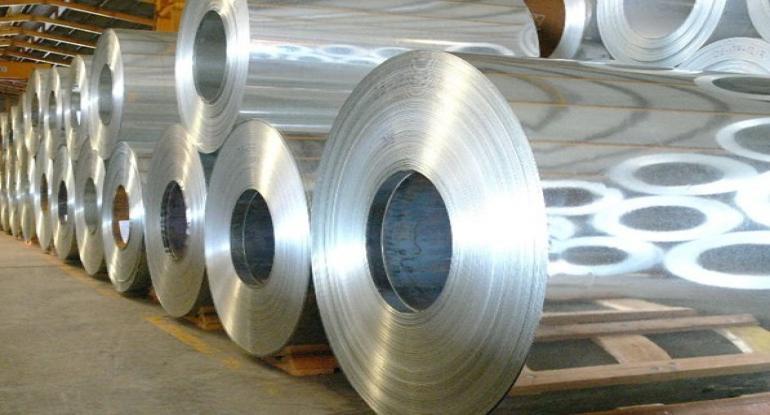 رول ورق قلع اندود موجود در انبار فولاد مارکت