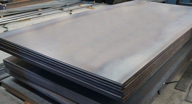 شیت گالوانیزه موجود در انبار فولاد مارکت