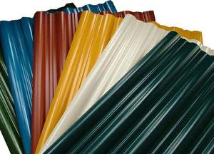 قیمت ورق رنگی موجود در انبار فولاد مارکت