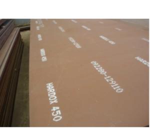 ورق ضدسایش هاردوکس 450 موجود در انبار فولاد مارکت