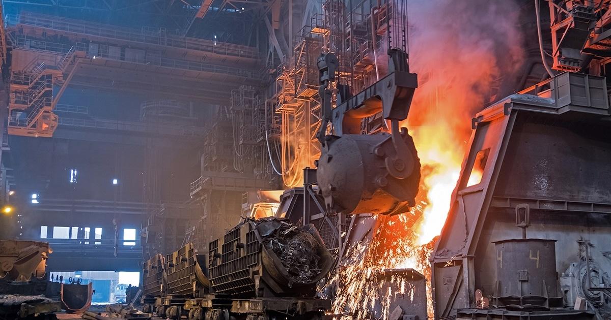 تهیه انواع فولاد آلیاژی به روش ریخته گری در فولاد مارکت