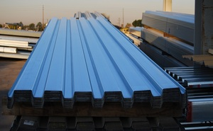 ورق رنگی شیروانی طرح ذوذنقه موجود در فولاد مارکت