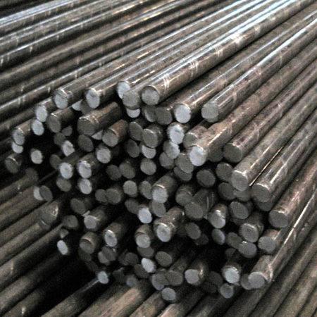 میلگرد ساده موجود در انبار فولاد مارکت